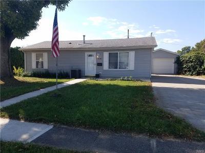 Xenia Single Family Home For Sale: 494 Franklin Avenue