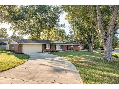 Bellbrook Single Family Home For Sale: 2054 Clearview Drive