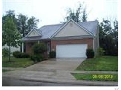 Xenia Single Family Home For Sale: 408 Georgia Drive