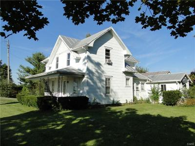 Brookville Single Family Home Active/Pending: 7638 Brookville Phillipsburg Road