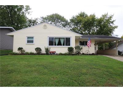 Fairborn Single Family Home For Sale: 1269 Hemlock Drive