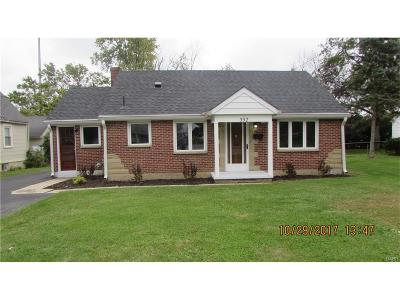 Trotwood Single Family Home Active/Pending: 332 Broadway Street