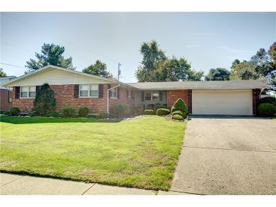 Fairborn Single Family Home For Sale: 1210 Marietta Drive