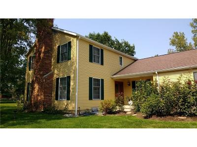 Clayton Single Family Home For Sale: 7375 Wastler Road