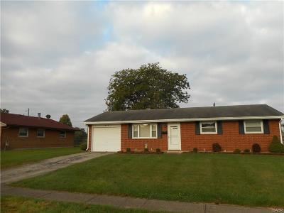 Enon Single Family Home Active/Pending: 3995 Marion Drive