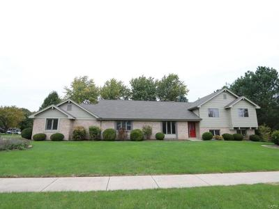 Tipp City Single Family Home For Sale: 645 Burr Oak Drive