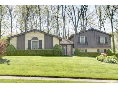 Fairborn Single Family Home For Sale: 1817 Southlawn Drive