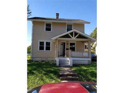 Dayton OH Single Family Home For Sale: $44,000