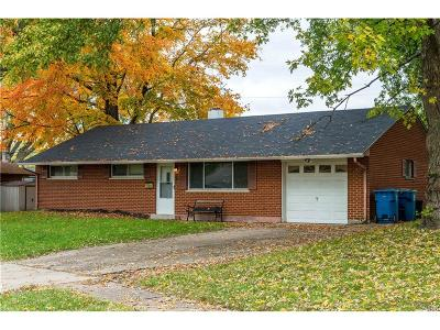 Huber Heights Single Family Home For Sale: 4597 Korner Drive