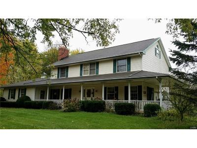Tipp City Single Family Home For Sale: 8365 State Route 202