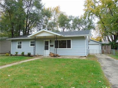 Xenia Single Family Home For Sale: 1156 Reid Avenue