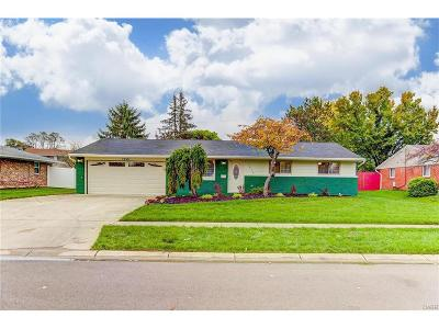 Huber Heights Single Family Home For Sale: 7250 Summerdale Drive