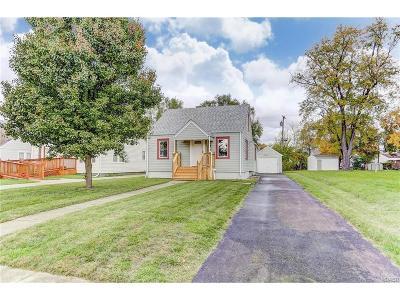Fairborn Single Family Home For Sale: 231 Mann Avenue
