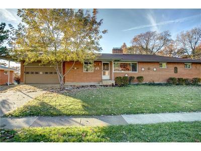 Fairborn Single Family Home For Sale: 1457 Poplar Drive