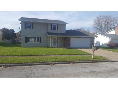 Xenia Single Family Home For Sale: 656 Eden Roc Drive