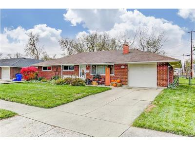 Dayton OH Single Family Home For Sale: $104,900