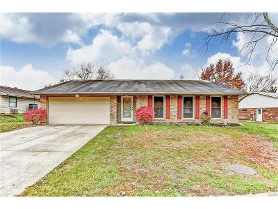 Huber Heights Single Family Home Active/Pending: 7031 Sandalview Drive