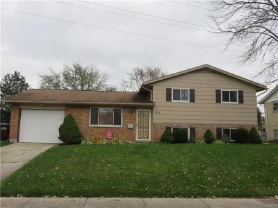 Miamisburg Single Family Home For Sale: 814 Althea Drive