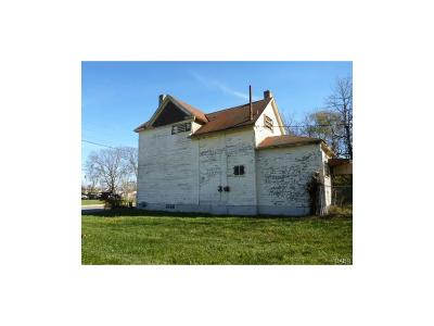 Dayton OH Single Family Home For Sale: $9,900