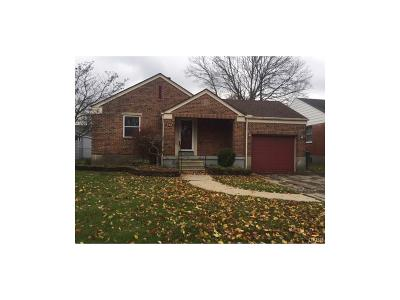 Kettering Single Family Home For Sale: 312 Dorothy Lane
