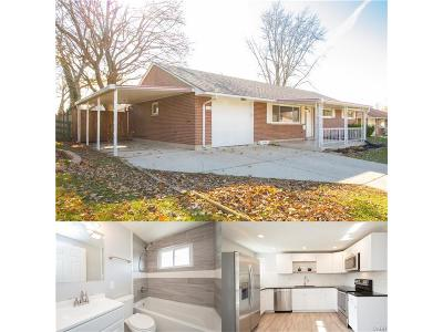 Dayton OH Single Family Home For Sale: $124,900