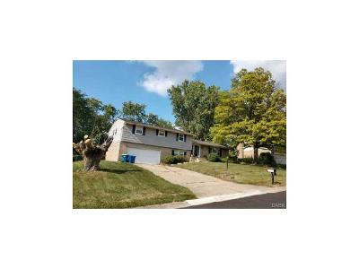 Dayton OH Single Family Home For Sale: $112,480