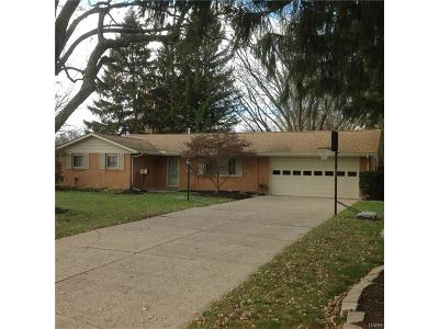 Dayton Single Family Home For Sale: 5401 Haxton Drive