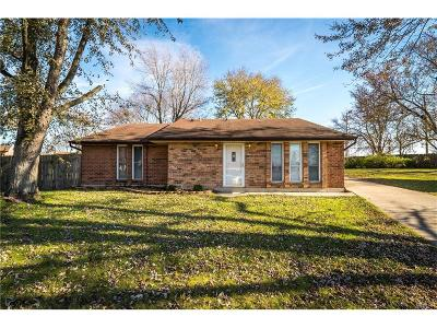 Dayton Single Family Home For Sale: 6086 Brown Deer Place