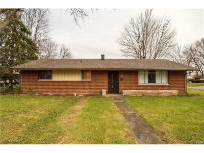 Dayton Single Family Home For Sale: 808 Burman Avenue
