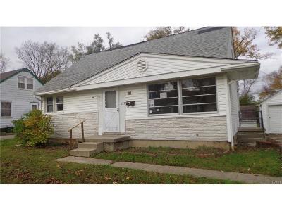 Fairborn Single Family Home For Sale: 1273 Oakhill Avenue