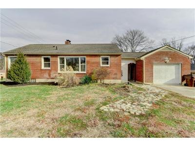 Fairborn Single Family Home For Sale: 2879 Old Yellow Springs Road