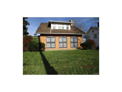 Dayton OH Single Family Home For Sale: $24,900