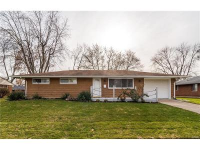 Dayton OH Single Family Home For Sale: $102,900