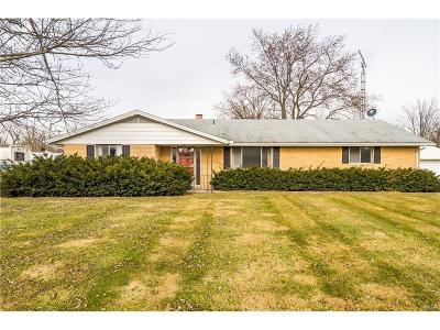 Vandalia Single Family Home For Sale: 4101 Old Springfield Road