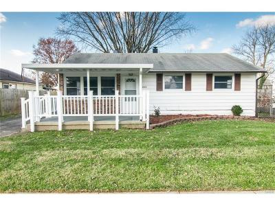 Dayton OH Single Family Home For Sale: $87,900