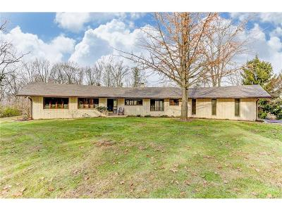 Trotwood Single Family Home For Sale: 9777 Wolf Creek Pike