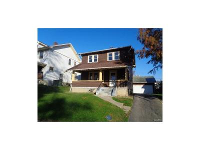 Dayton OH Single Family Home For Sale: $17,850