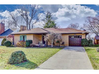Kettering Single Family Home Active/Pending: 3725 Wenzler Drive