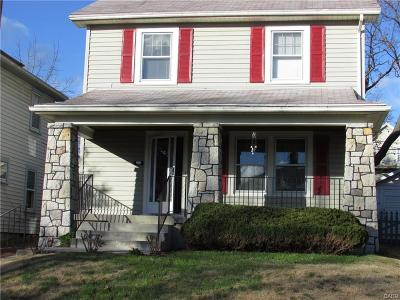 Dayton OH Single Family Home For Sale: $79,900