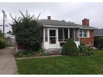 Dayton OH Single Family Home For Sale: $59,900
