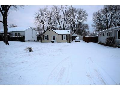 Dayton OH Single Family Home For Sale: $45,000