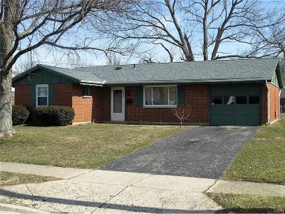Xenia Single Family Home For Sale: 1597 Seneca Drive