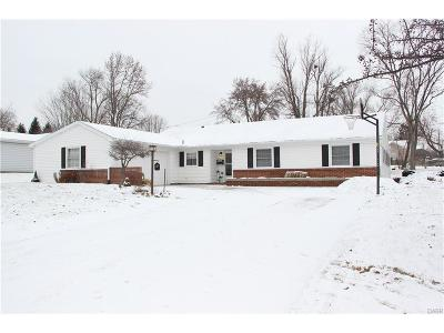 Dayton OH Single Family Home For Sale: $189,900