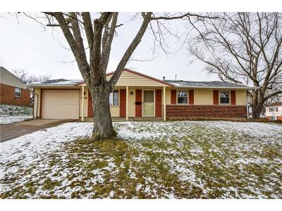 Huber Heights Single Family Home Active/Pending: 6825 Haddon Place