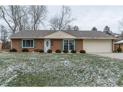 Bellbrook Single Family Home For Sale: 4428 Hillcrest Drive