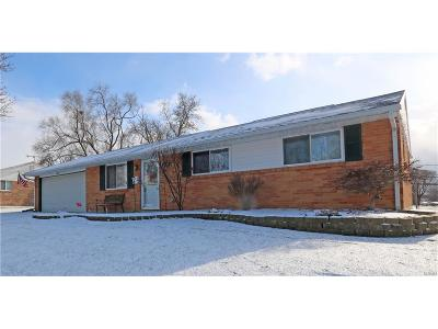 Dayton Single Family Home For Sale: 6570 Highbury Road