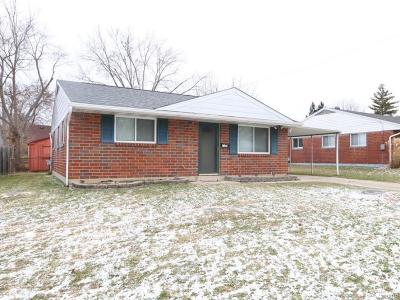 Miamisburg Single Family Home For Sale: 1141 Case Court