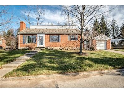 Dayton OH Single Family Home For Sale: $137,500