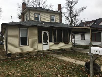 Miamisburg Single Family Home For Sale: 6078 1st Avenue