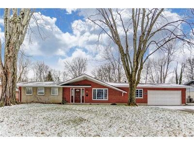 Kettering Single Family Home Active/Pending: 4631 Woodwell Drive